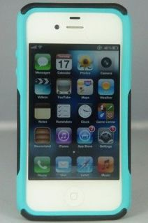 Otterbox Commuter Case iPhone 4/4S Black/Teal New In Retail Package