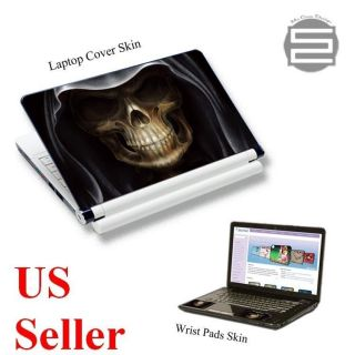 15 15.6 High quality Laptop Skin Sticker Cover Decal up to 16.5 skull