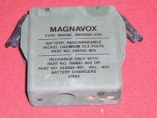 BATTERY CASE & PACK PRC 68 128 MAGNAVOX FIELD PHONE RADIO ARMY