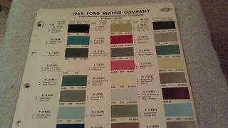1964 thunderbird parts in Vintage Car & Truck Parts