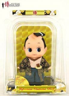 japanese kewpie doll crafty samurai from japan time left $