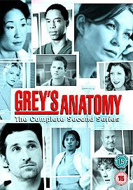 Greys Anatomy   Series 2, DVD, Complete Second Season   NEW   Grays