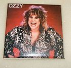 OZZY OSBOURNE VINTAGE SQUARE SHAPED PIN BADGE FROM THE 1980s BARK AT