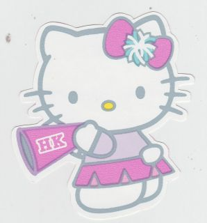 HELLO KITTY PEP RALLY WALL BORDER PEEL & STICK CHARACTER CUT OUT
