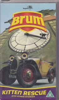 pal vhs video brum kitten rescue other stories from australia