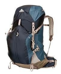 new 2012 gregory z 55 backpack medium navy blue time