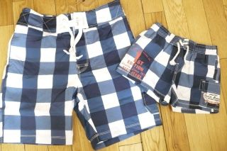 PEPE JEANS LONDON DAD & SON MATCHING SWIM SHORTS RRP £40 BNWT