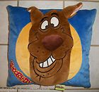 SCOOBY DOO 3D PLUSH SQUARE 14 THROW TOSS BED PILLOW GIRLS DECOR