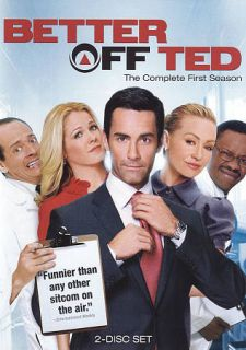 Better Off Ted The Complete Season 1 DVD, 2009, 2 Disc Set
