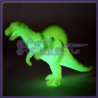 Large Vivid Luminous Spinosaurus Dinosaur Toy Model Home Decor Baby