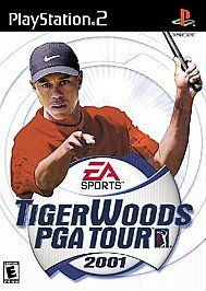 Tiger Woods PGA Tour 2001 Sony PlayStation 2, 2001