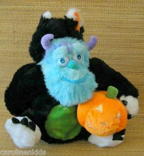 Monsters Inc Halloween Sully Talking Pumpkin Plush Toy Cat Costume