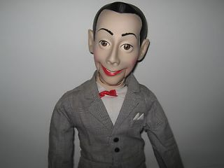 vintage 1989 pee wee herman ventriloquist doll