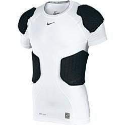 NIKE Hyperstrong Pro Combat Deflex Padded Base Layer Football Shirt