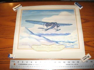 1st South Pole Flight 1929 Com Richard Byrd Charles Hubbell Aviation