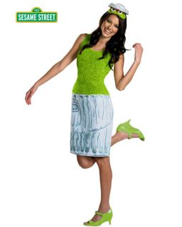 sesame street oscar the grouch costume for women more options