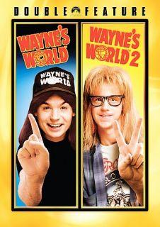 Double Feature   Waynes World Waynes World 2 DVD, 2007, 2 Disc Set