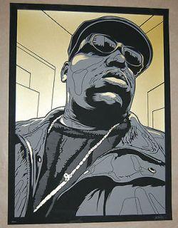 Biggie Smalls Print Notorious B.I.G. by Joshua Budich Rap Hip Hop