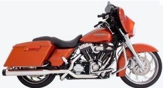 Rinehart Racing 4 Tru Dual Duals Exhaust 2009 to 2013 Harley Touring