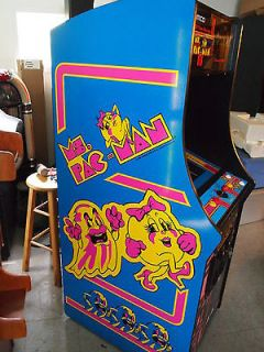 Ms Pacman Galaga Pac man video arcade game brand new upright game