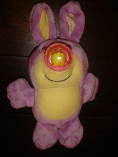 Vintage Playskool Mini Nosy Bears Purple Bunny Rabbit Easter Basket