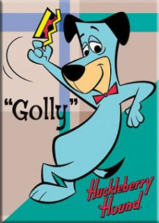 Hanna Barbera Huckle​berry Hound Golly Magnet