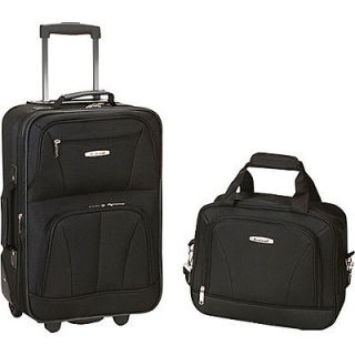 rockland luggage rio 2 piece carry on luggage set time