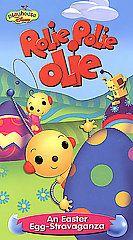 Rolie Polie Olie An Easter Egg Stravaganza VHS, 2002