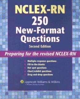 NCLEX RN 250 2005, Paperback, Revised
