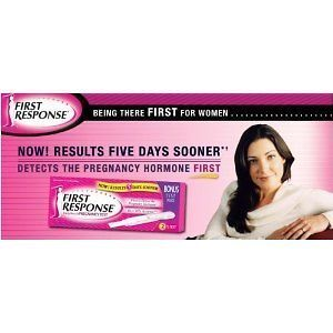 FIRST RESPONSE RAPID RESULTS PREGNANCY TEST   2 TESTS sm383240