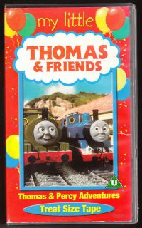 THE TANK ENGINE   THOMAS AND PERCY ADVENTURES   VHS PAL (UK) VIDEO