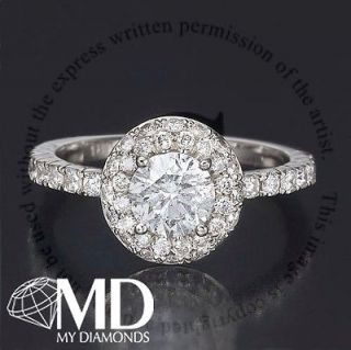 Newly listed DIAMOND ENGAGEMENT RING 3 CT ROUND CUT D/VS 14K WHITE