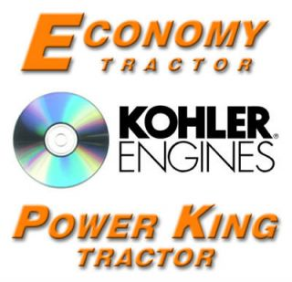 power king economy tractor kohler engine manuals cd 37 manuals