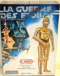 star wars C3PO model kit in Science Fiction