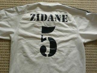 Real Madrid Zidane #5 original Champs Lge football jersey soccer shirt