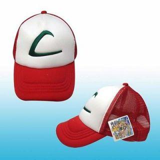 pokemon ash ketchum adjustable hat anime cosplay cap # d