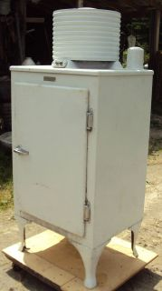 antique ge monitor top refrigerator time left $ 950 00