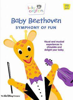 disney baby einstein baby beethoven dvd 2002