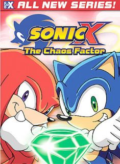 NEW SEALED Sonic X   Vol. 2 The Chaos Factor (DVD, 2004)