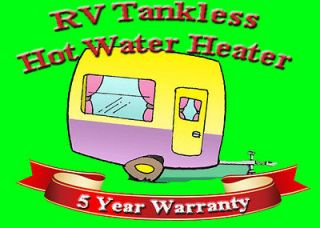 on Demand LP Propane Gas Tankless Endless Hot Water Heater 2GPM 2013