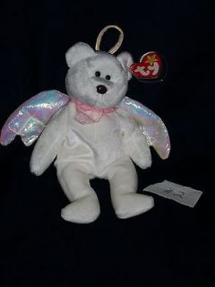 Ty Beanie Baby ~*~ HALO ~*~ Angel Teddy Bear ~ MWMT Tush Tag # 425