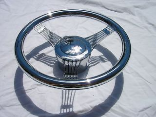 Billet Banjo Steering Wheel Kit street hot rat rod 1 DAY SUPER SALE