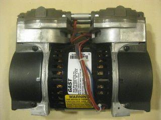 New GAST 75R 1/3HP Rocking Piston air compressor vacuum pump 220v