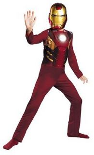 the avengers iron man childs costume classic boys medium 7 8 mark VII