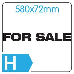 FOR SALE Large White Car/Van/Rear Window Vinyl Decal Transfer Sticker