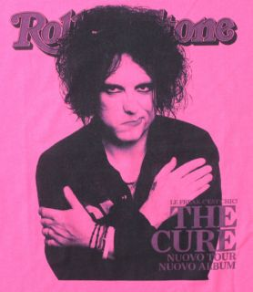 the cure robert smith rock band music t shirt more