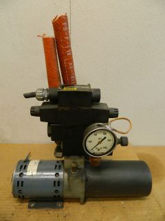 ROBBINS AND MYERS KL M330 B0 HYDRAULIC PUMP 1/3HP 1/3 HP 115V W