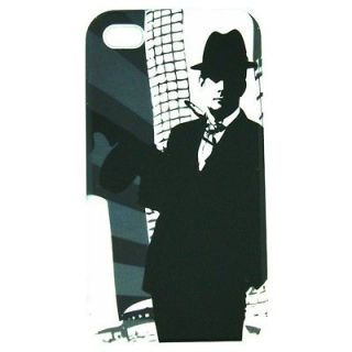 Apple iPod Touch 4 soft flexible 40s gangster designer Gel cover case