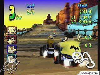 Walt Disney World Quest Magical Racing Tour Sony PlayStation 1, 2000