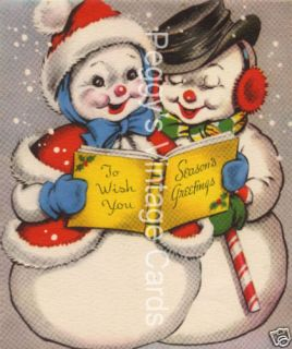 vintage christmas greeting cards v7 380 images on cd returns